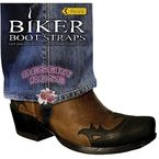 6 in. Breast Desert Rose Boot Straps - BBS-DR6
