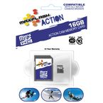 Action 16 Gb Micro-SDHC Class 10 Memory Card - 16 GB SDHC MICRO