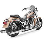 Chrome Racing True Duals Exhaust System - HD00200