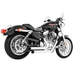 Chrome Declaration Turn Out Exhaust System - HD00002
