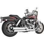 Chrome Signature Series Slip-On Mufflers - HD00194