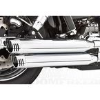 Chrome Racing Slip-On Mufflers - HD00312
