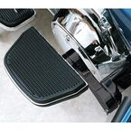 Black Adjustable Passenger Floorboard Mounts - HDPBLA-BK