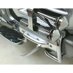 Silver Anodized Aero Flip-Out Highway Pegs - GL18003A