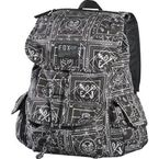 Womens Black Mischievous Rucksack Backpack - 10556-001