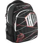 Black/White/Red Slam Block Backpack - 3517-0347