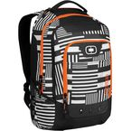 Evole Black/Orange Operative Back Pack - OPERATIVE