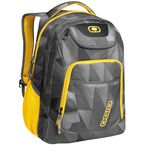 Gray/Yellow Envelope Tribune Back Pack - TRIBUNE