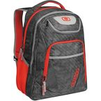 Gray/Red Cynderfunk Tribune Back Pack - TRIBUNE