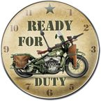 Ready for Duty Clock - 65325