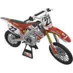 2012 Two Two Motorsports Chad Reed 1:12 Scale Racer Replica Die-Cast Model - 15-5204