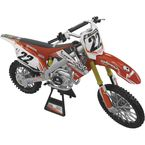 2012 Two Two Motorsports Chad Reed 1:6 Scale Racer Replica Die-Cast Model - 15-5203