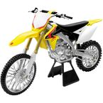 2010 Suzuki RMZ450 1:6 Scale Die-Cast Dirt Bike Model - 49263