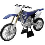 2009 Yamaha YZ450F 1:6 Scale Die-Cast Dirt Bike Model - 49093