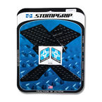 Black Streetbike Volcano Traction Pad Kit - 55-10-0089B