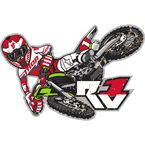 Ryan Villopoto Sticker - 4320-1573