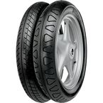 Front Conti Ultra TKV12 100/90V-19 Blackwall Tire - 02491330000