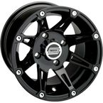 Gloss Black Type 387 X Wheel - 0230-0630