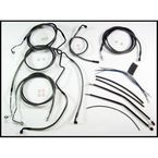 Black Pearl Designer Series Handlebar Installation Kit for Use w/12 in. - 14 in. Ape Hangers (w/ABS) - 487341