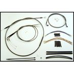 Black Pearl Designer Series Handlebar Installation Kit for Use w/15 in. - 17 in. Ape Hangers - 487442