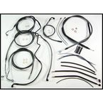 Black Pearl Designer Series Handlebar Installation Kit for Use w/18 in. - 20 in. Ape Hangers (w/ABS) - 487483