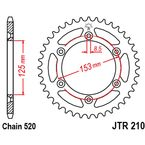 High Carbon Steel Rear Sprocket - JTR210.42