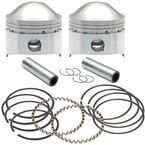 Forged High Compression Piston Kit (.010