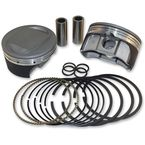Super-Duty Forged Piston Kit (4.00