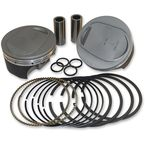 Super-Duty Forged Piston Kit (4.125
