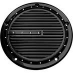 Black Dimpled 5-Hole Derby Cover - C1075-B