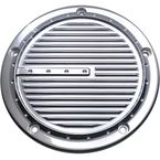 Chrome Dimpled 5-Hole Derby Cover - C1075-C