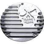 Chrome Machine Head 5-Hole Derby Cover - C1076-C