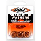 Copper Drain Plug Washer Set - DPW.KTM