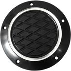 Black Anodized Reverse Cut Slim Derby Cover - TC-028B