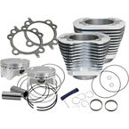Silver 4 in. Sidewinder Big Bore Kit - 910-0650