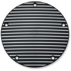 Satin Black Finned Derby Cover - 9749
