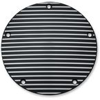 Satin Black Finned Derby Cover - 9769