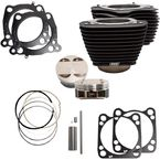 Wrinkle Black 124 in. Big Bore Kit - 910-0681