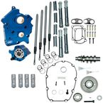 Gear Drive 475G Cam Chest Kit with Chrome Pushrod Tubes for Oil Cooled M8 Models - 310-1006A