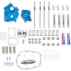 Chain Drive 550C Cam Chest Kit with Chrome Pushrod Tubes for Oil Cooled M8 Models - 310-1082A