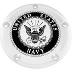 Chrome Navy Derby Cover - NAV15-12
