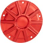 Red 10 Gauge Ness Tech Derby Cover - 700-022