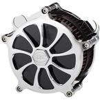 Chrome Revolt Airstrike Air Cleaner Kit - AC-02C-124C