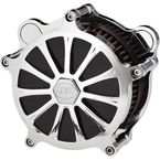 Chrome Exile Airstrike Air Cleaner Kit - AC-02C-122C
