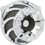 Chrome Inverted Series Drift Air Cleaner Kit - 18-984
