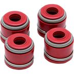Red Viton Intake/Exhaust Valve Stem Seal - 71011-4