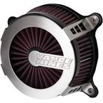 Brushed VO2 Cage Fighter Air Intake Kit - 70067