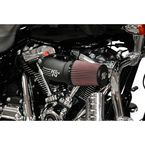 Satin Black Performance Air Intake System - 57-1139