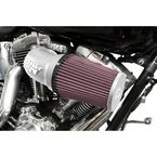 Satin Silver Performance Air Intake System - 57-1139S
