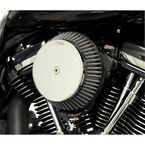 Chrome Plain Cover Big Air Cleaner - LA-2392-03